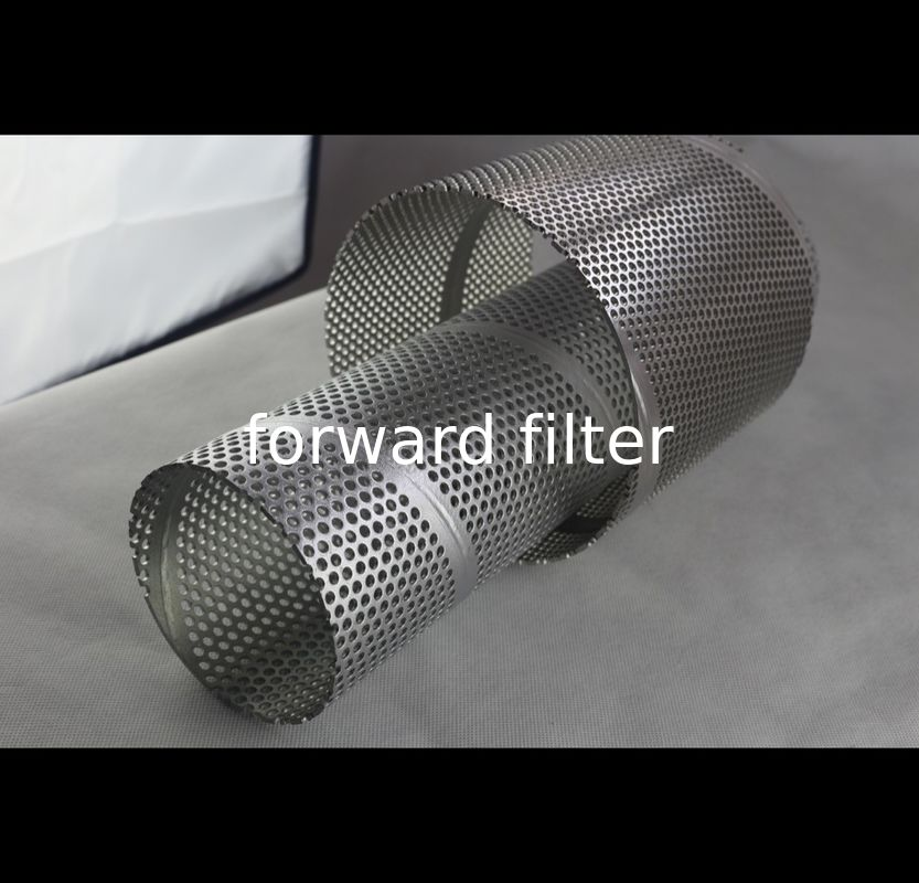 201 304	Steel Perforated Cylinder For Food Filtration Producing Vehicle Exhausts
